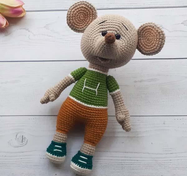 عروسک موش ورزشکار