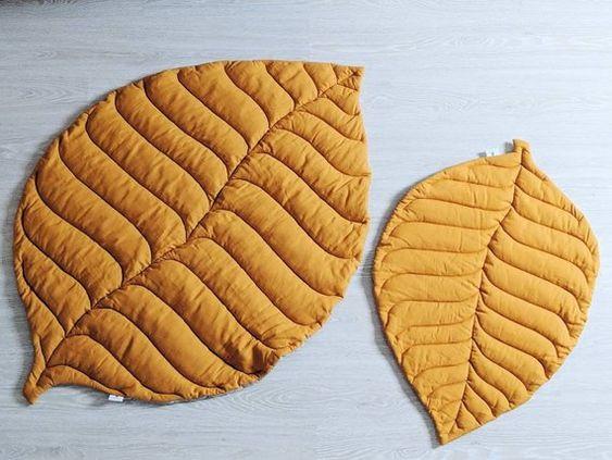 مدل فرشینه برگ پاییزی