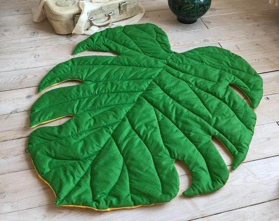 مدل فرشینه برگ سبز