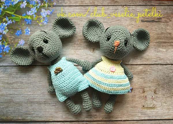 عروسک موش خواهر برادر