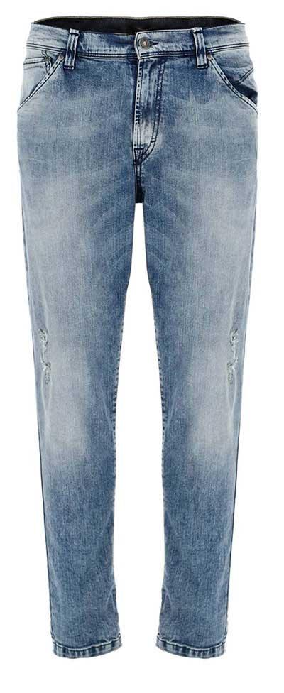 شلوار جین راسته روشن مردانه