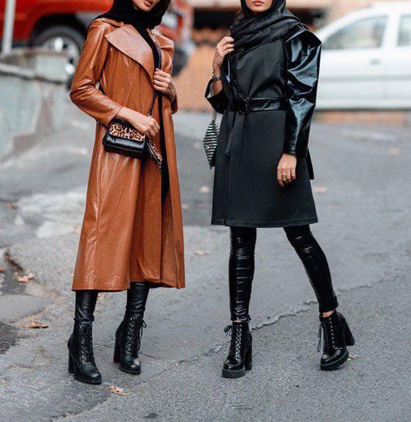 مدل مانتو و پالتو زمستانه