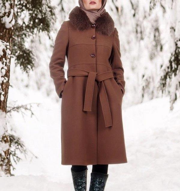 مدل مانتو پالتو فوتر زمستانی