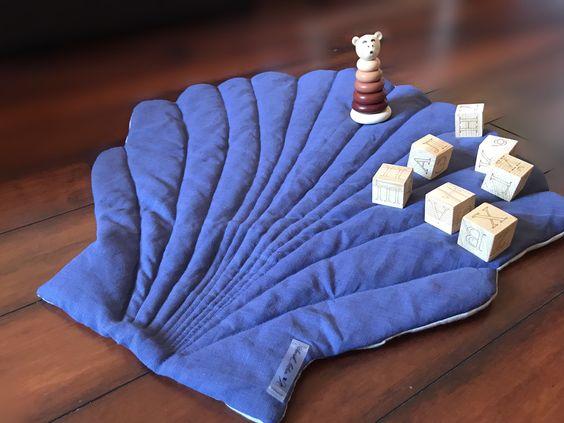 مدل فرشینه صدف آبی