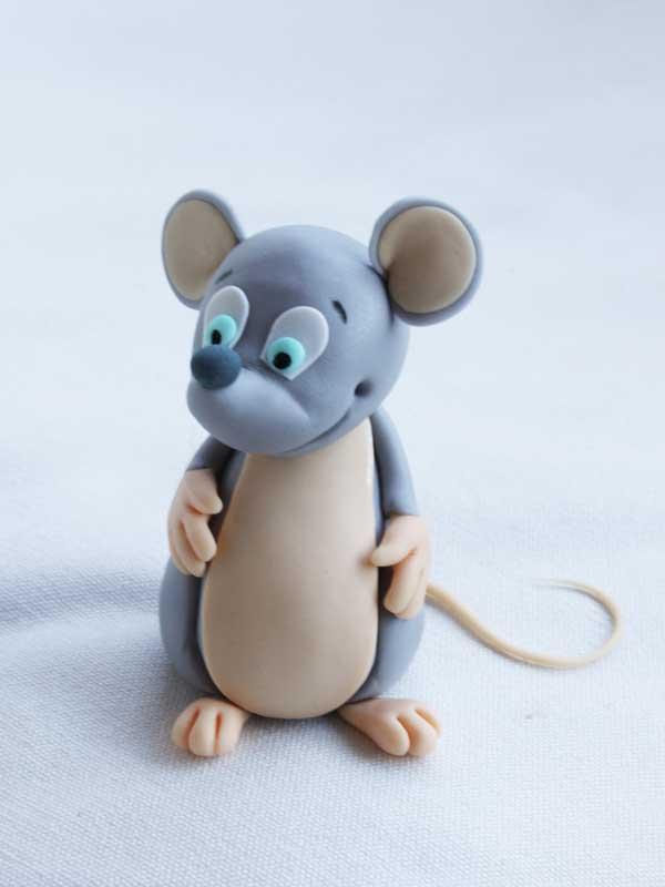 آموزش ساخت موش خمیری