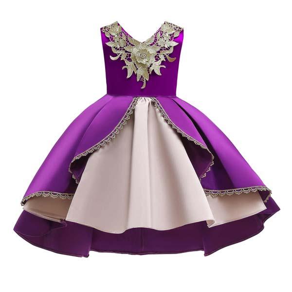 لباس مجلسی دخترانه دامن پرنسسی