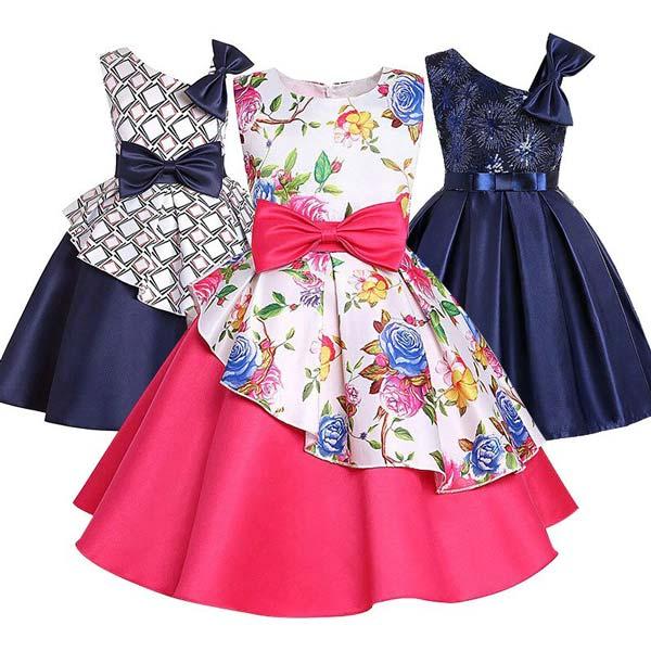 لباس مجلسی خوشگل دخترانه بهاره تابستانه