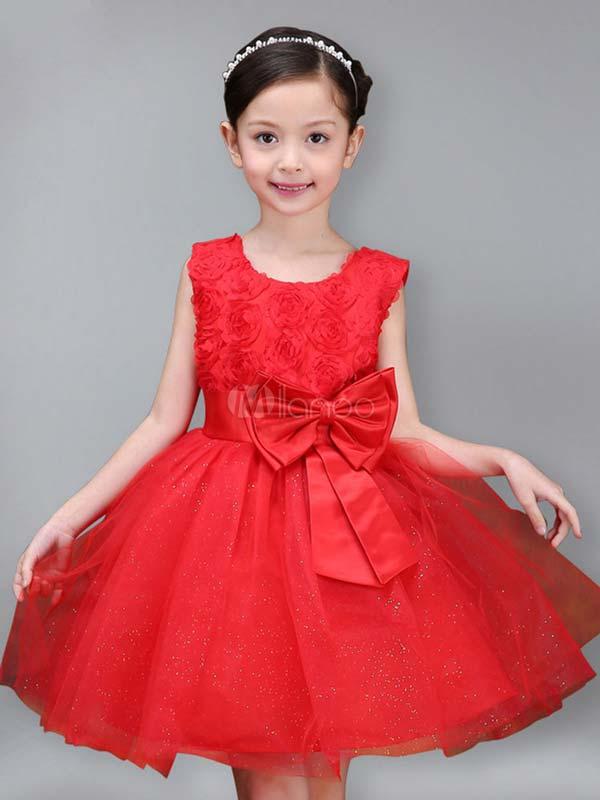 لباس مجلسی خوشگل دخترونه قرمز