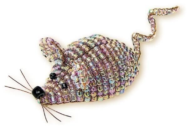موش منجوق بافی