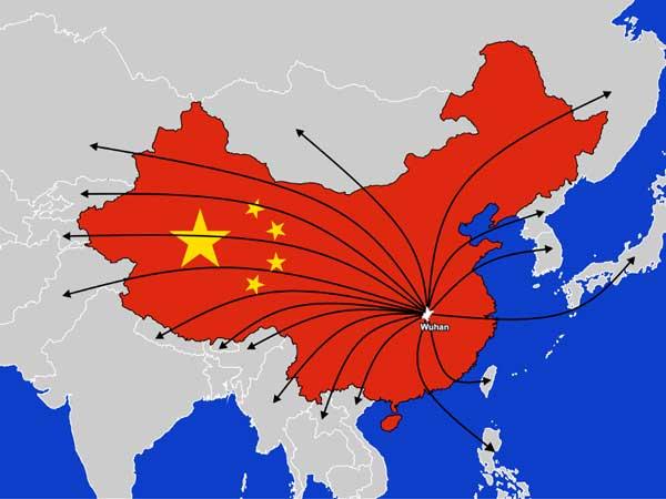 گسترش کرونا در چین