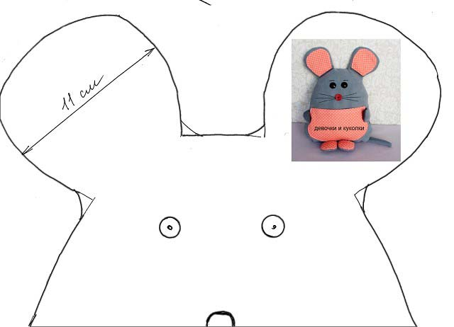 الگوی مپکوسن موش
