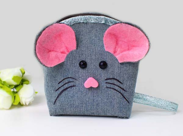 آموزش دوخت کیف لی موش