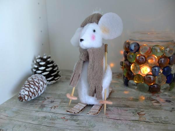 موش اسکی باز