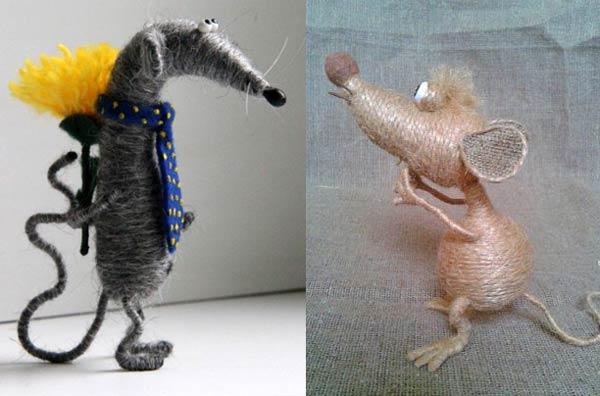 عروسک موش کنفی