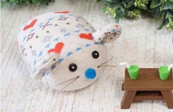 عروسک موش جورابی