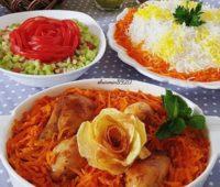 خورش هویج و آلو مجلسی تبریزی