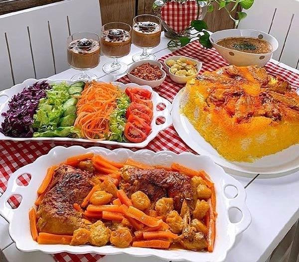 خورش هویج تبریزی