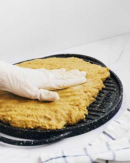 کباب کوبیده تابه ای مرغ