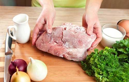 فریز کردن گوشت قرمز