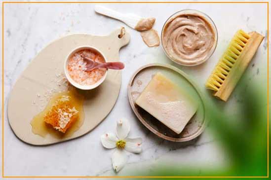 کرم سفید کننده پوست با پاپایا و عسل