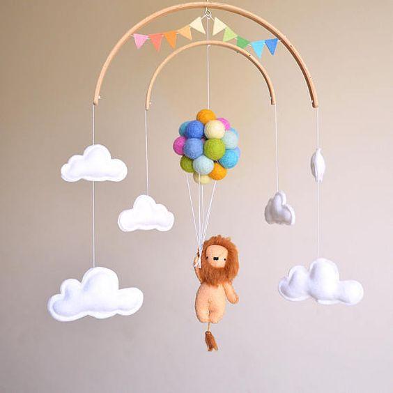 مدل آویز تزیینی اتاق بچه