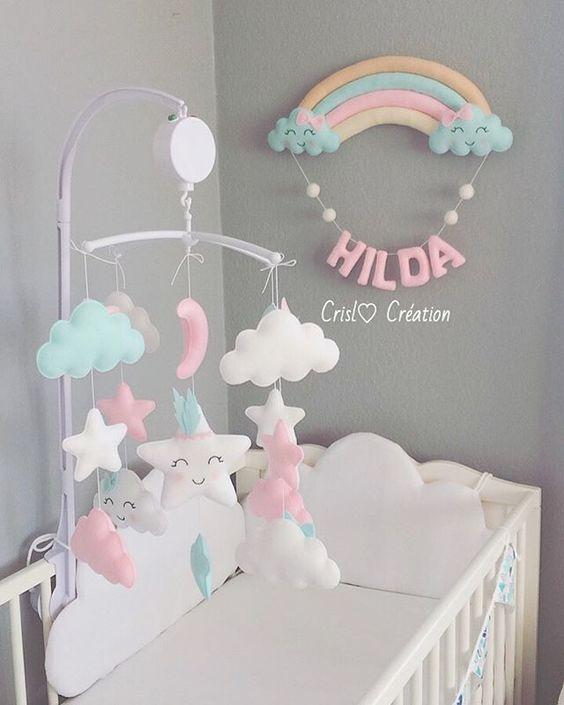 آویز تزیینی تخت بچه