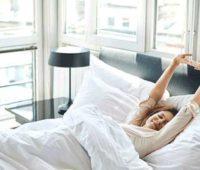 ورزش بعد از خواب در رختخواب