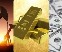 gold oil us dollar