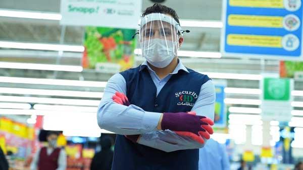 جلوگیری از شیوع ویروس کرونا توسط کادر فروشگاهی هایپراستار