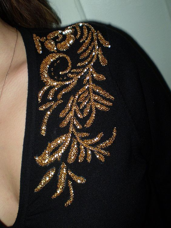 ملیله دوزی لباس