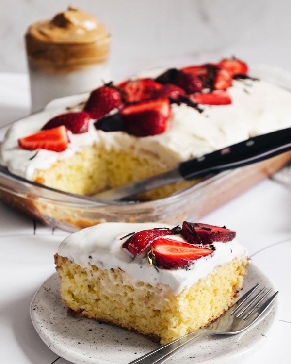 کیک سه شیر