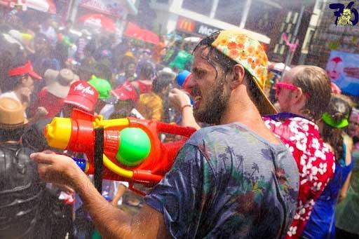 فستیوال آب تایلند