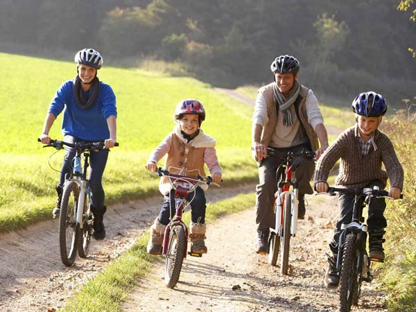 دوچرخه سواری و تاثیر آن بر تقویت قلب
