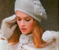 مدل کلاه برت زنانه بافتنی
