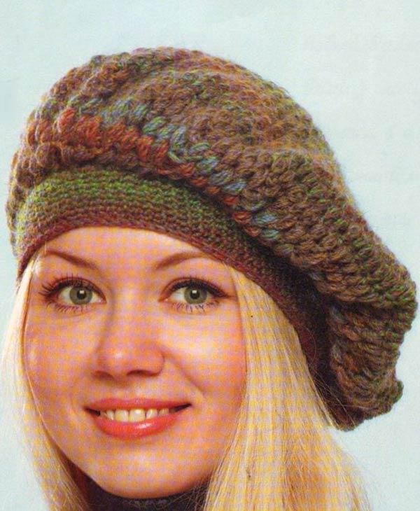 کلاه کج فرانسوی دستباف