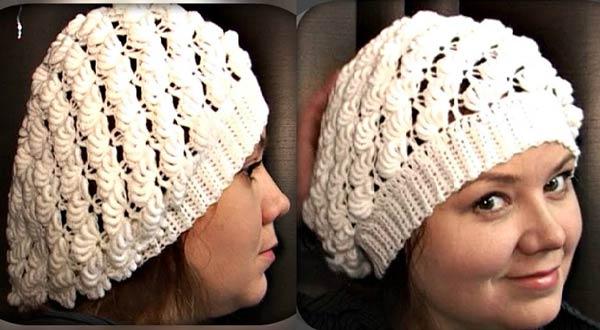 کلاه برت بافتنی