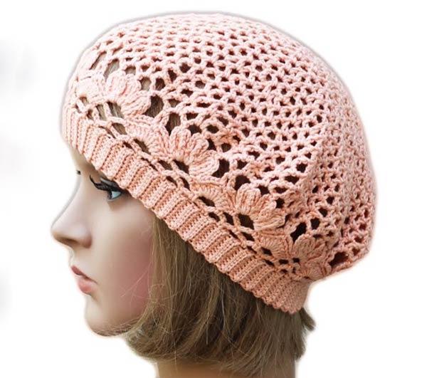 کلاه فرانسوی زنانه گلبهی