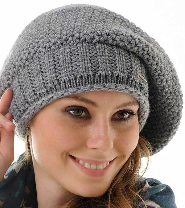 کلاه کج فرانسوی طوسی دستباف