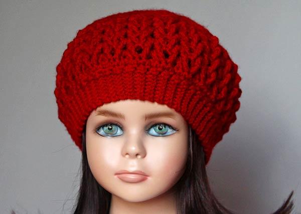 کلاه پفی زنانه