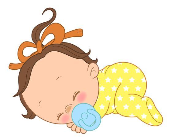 طرح خام نوزاد خوابیده