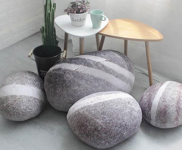 مدل جدید پاف شکل سنگ
