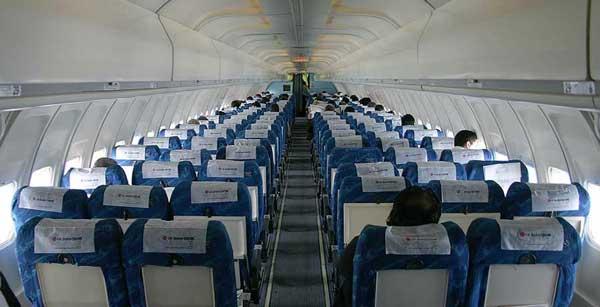 داخل هواپیمای ماهان