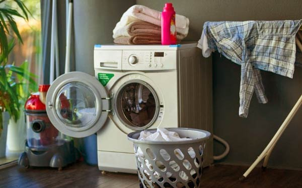 ضدعفونی کردن ماشین لباسشویی