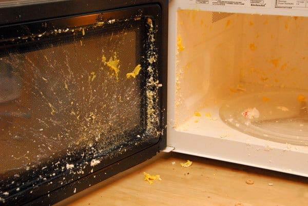 انفجار تخم مرغ در مایکروویو