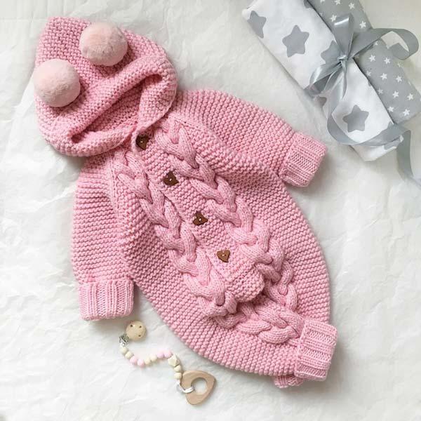 سرهمی نوزادی صورتی دخترانه