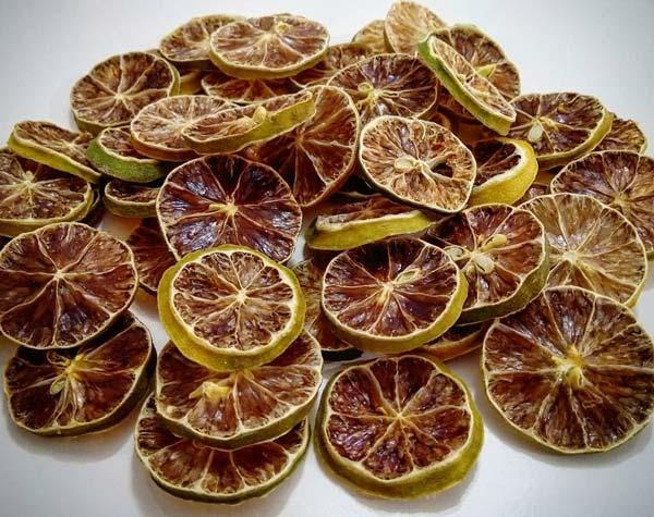 ورقه لیمو خشک شده