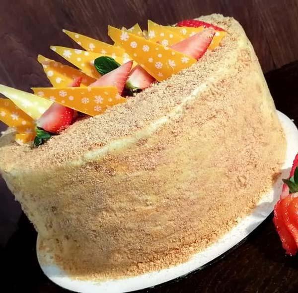 تزیین کیک مدوویک