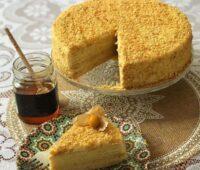 مدوویک کیک روسی عسلی