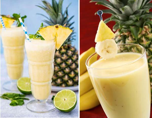 اسموتی آناناس و موز