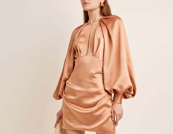 مدل آستین لباس مجلسی